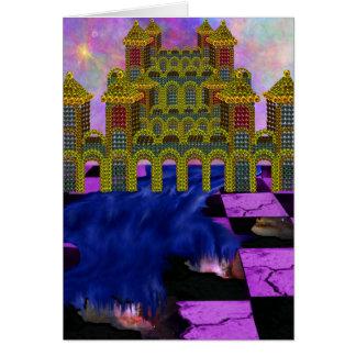 私の世界のひび カード