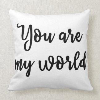 私の世界の枕です クッション