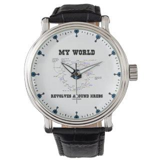 私の世界はKrebsの生物化学のユーモアのまわりで回転します 腕時計