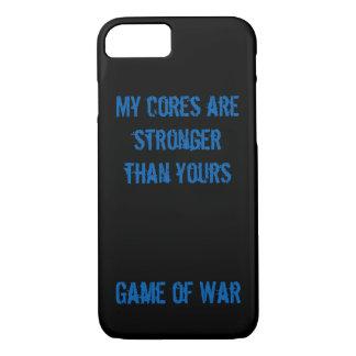 私の中心はあなたのより強いです。 戦争の場合のゲーム iPhone 8/7ケース