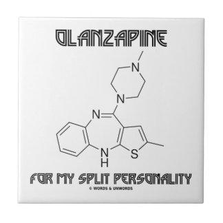 私の二重人格(化学)のためのOlanzapine タイル