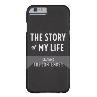 私の人生のの物語競争相手のiPhone6ケース Barely There iPhone 6 ケース