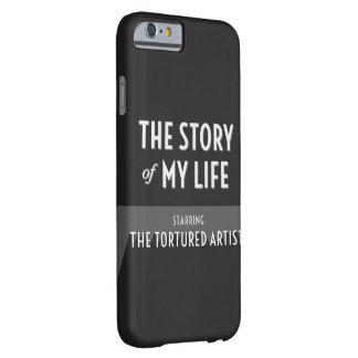 私の人生のの物語苦しめられた芸術家 BARELY THERE iPhone 6 ケース