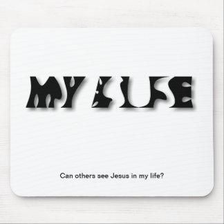 私の人生のmousepadのイエス・キリスト マウスパッド