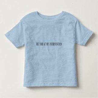 私の介在で会って下さい トドラーTシャツ