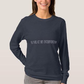 私の介在で会って下さい Tシャツ