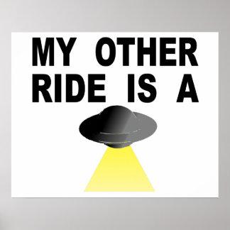 私の他の乗車はUFOです ポスター