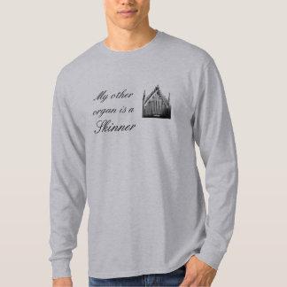 """""""私の他の器官""""は音楽Tシャツです Tシャツ"""