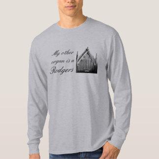 """""""私の他の器官Rodgers""""は音楽Tシャツです Tシャツ"""