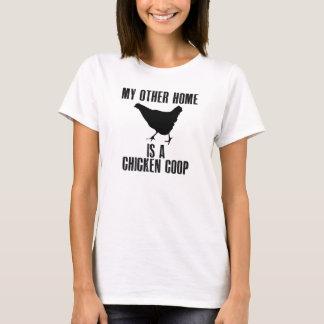 私の他の家は鳥小屋です Tシャツ