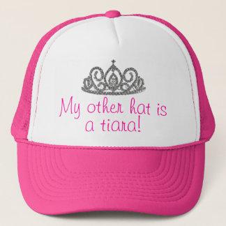 私の他の帽子はティアラです! キャップ