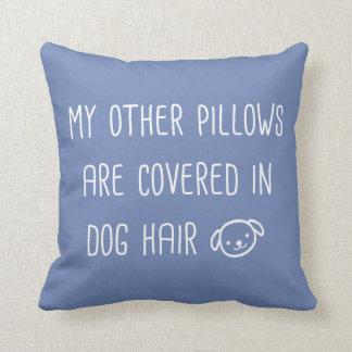 私の他の枕はおもしろいな犬の毛で覆われます クッション