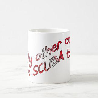 私の他の車はスキューバタンクです コーヒーマグカップ