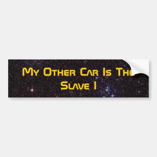私の他の車は奴隷Iです バンパーステッカー