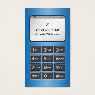 私の他の電話-青く個人的なテレホンカード 名刺