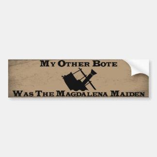 私の他のBote (Maggie) バンパーステッカー