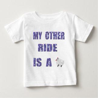 私の他乗車 ベビーTシャツ