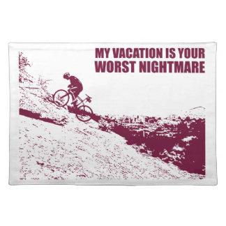 私の休暇はあなたの最も悪い悪夢です ランチョンマット