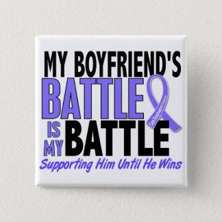 私の余りに戦いのボーイフレンドの食道の蟹座 5.1CM 正方形バッジ