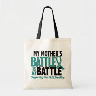 私の余りに戦いの母卵巣癌 トートバッグ