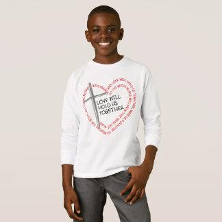私の兄弟の看守の男の子の長袖のTシャツ Tシャツ