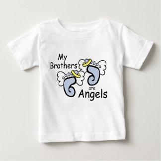 私の兄弟は天使です ベビーTシャツ