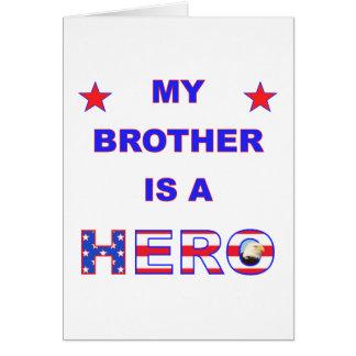 私の兄弟は英雄です カード