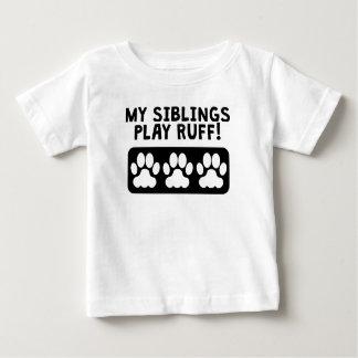 私の兄弟姉妹の演劇のエリマキシギ ベビーTシャツ