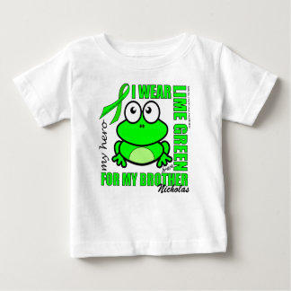 「私の兄弟」%PIPE%のリンパ腫サポート%PIPE%カエルのために ベビーTシャツ