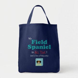 私の分野スパニエル犬はすべてそれです! トートバッグ