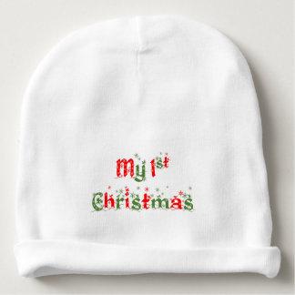 私の初めてのクリスマスの帽子 ベビービーニー