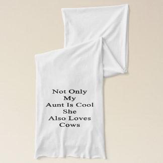 私の叔母さんだけIs Cool She Also牛を愛します スカーフ