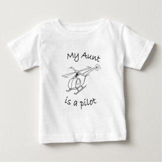 私の叔母さんはパイロットです ベビーTシャツ