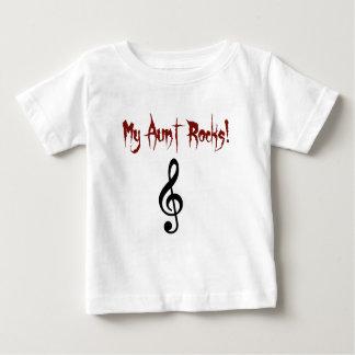 私の叔母さんは衣類を揺すります ベビーTシャツ