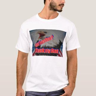 私の叔母さんを感謝していして下さい Tシャツ