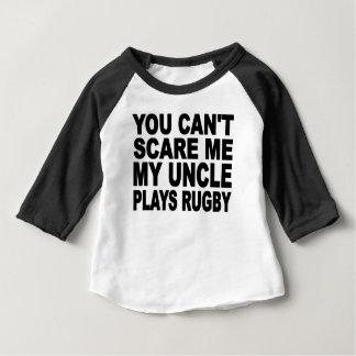 私の叔父さんPlays Rugby ベビーTシャツ