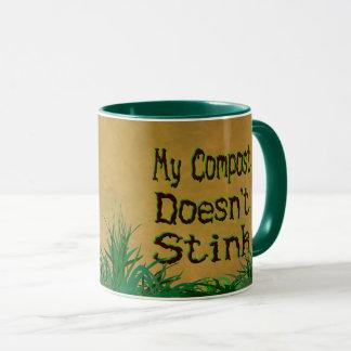 私の合成物によってはおもしろいな庭師のマグが悪臭を放ちません マグカップ