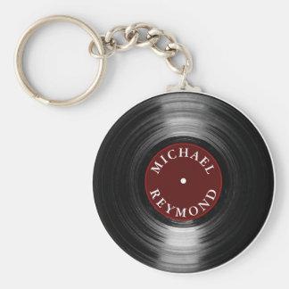 私の名前のレコード キーホルダー