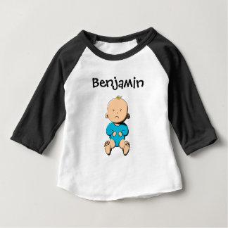 私の名前はあります… ベンジャーミン ベビーTシャツ