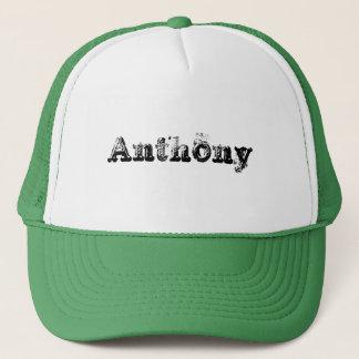 私の名前はアンソニーです キャップ