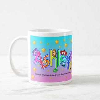 私の名前はAshleyです コーヒーマグカップ