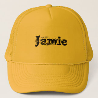 私の名前はJamieです キャップ