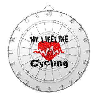 私の命綱サイクリングはデザインを遊ばします ダーツボード
