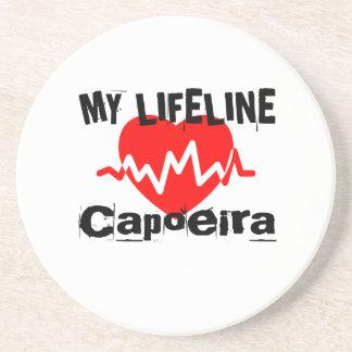 私の命綱Capoeiraはデザインを遊ばします コースター