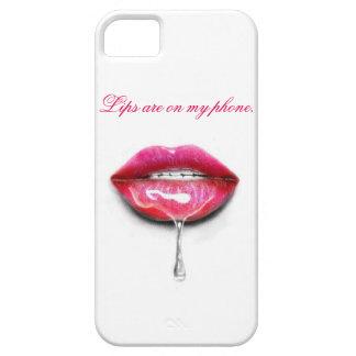 私の唇は私の電話にあります iPhone SE/5/5s ケース