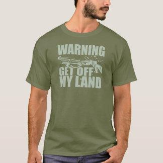 私の土地を離れて得て下さい Tシャツ