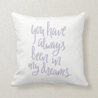 私の夢の枕常にで クッション