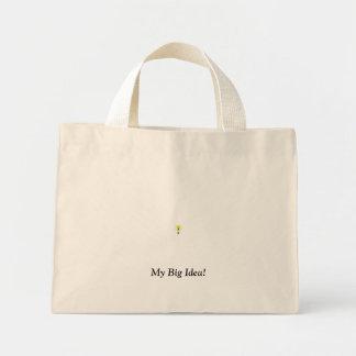 私の大きいアイディア! ミニトートバッグ