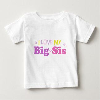 私の大きいsisのベビーのティーを愛して下さい ベビーTシャツ