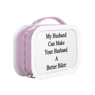 私の夫はあなたの夫によりよいバイクもしくは自転車に乗る人をすることができます ランチボックス